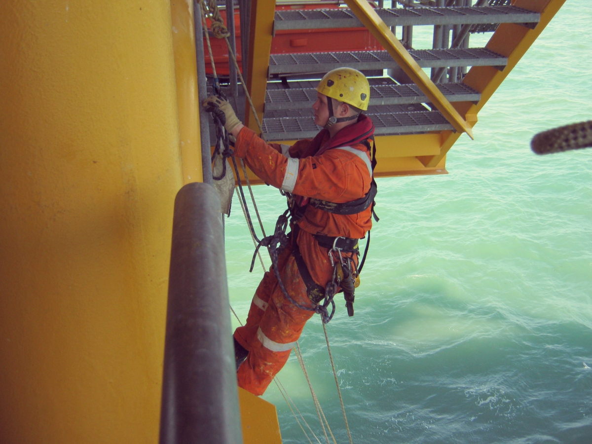 Offshore Oil Rig Platforms Inspections